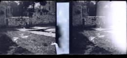 Plaque Stereo Andenne Cortege Sainte Begge Procession - Glasplaten