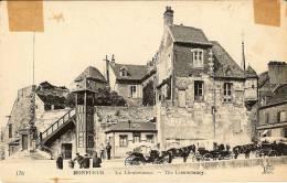 CPA  14 HONFLEUR  La Lieutenance  , Attelages , Animées - Honfleur