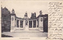 Germany Wuerzburg Prinzregentdenkmal 1905