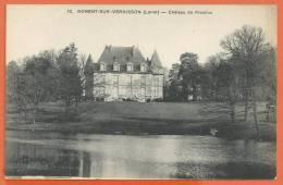 V059, Nogent-sur-Vernisson, Château De Praslins, 32, Circulée 1923 Sous Enveloppe - Other Municipalities