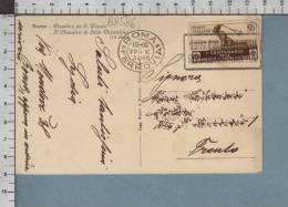 B8586 Italia REGNO Storia Postale 1934 BERSAGLIERI INDOMITO VALORE MEDAGLIE AL VALORE MILITARE 30 Cent - Marcofilía