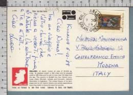 B8609 EIRE Postal History 1989 NOLLAIG IRELAND - Irlanda