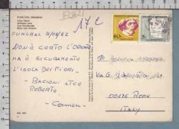 B8621 PORTUGAL Postal History 1992 NAVEGADORES RUNO TRISCAO TUSCAO VAN TEIXENA - Lettere
