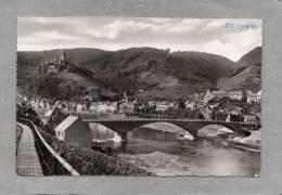 37090   Germania,  Cochem  An  Der  Mosel -  Neue  Brucke  Mit  Stadt Und  Burg,  VG  1955 - Cochem
