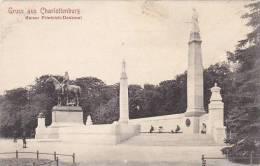 Germany Gruss aus Charlottenburg Kaiser Friedrich Denkmal