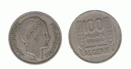 ALGERIA - ARGELIA -  100 Francs  1950  KM93 - Argelia