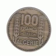 ALGERIA - ARGELIA -  100 Francs  1952  KM93 - Argelia