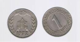 ALGERIA - ARGELIA -  1 Dinar  1972  KM104  FAO - Argelia