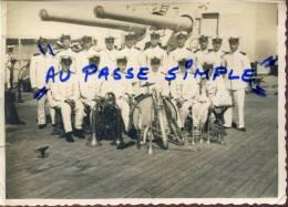 BATEAUX / LA MUSIQUE / 1937-38/CROISEUR JEANNE D ARC / UN CONCERT A L EQUIPAGE .(•¿• )› - Boten