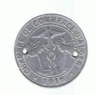 ALGERIA - ARGELIA - Chambre De Comerce 10 Cents - Argelia