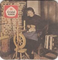 Bierviltje, Sous Bock, Cristal Alken, Spinster (pk9752) - Bierdeckel