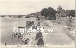 NEVERS - La Tour Goguin Et Le Pont Du Chemin De Fer (animée) - N° 69 - Nevers