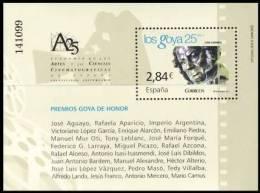 España 2011 Edifil 4650 Sello ** HB Cine Español Premios Goya De Honor Spain Stamps Espagne Timbre Briefmarke Spanien - 1931-Hoy: 2ª República - ... Juan Carlos I