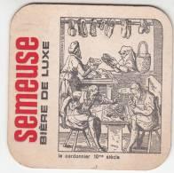 Bierviltje, Sous Bock, Semeuse Bière De Luxe, Le Cordonnier 16me Siècle (pk9755) - Bierviltjes