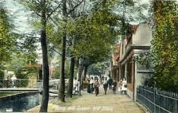 Koog Aan De Zaan Hoogstraat Bij De Sluis Anno 1900 - Andere Verzamelingen