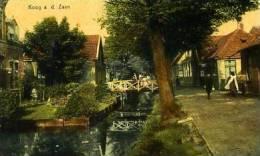Koog Aan De Zaan - Hoogstraat Met Wegsloot Anno 1900 - Andere Verzamelingen