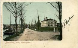 Zaandam - Burcht En Prins Hendrikkade Met Gemeentehuis Anno 1900 - Andere Verzamelingen