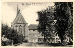 BELGIQUE - FLANDRE ORIENTALE - DEINZE - ASTENET - ASTENE - Institut Ste-Catherine - La Chapelle, Vue Du Parc. - Deinze