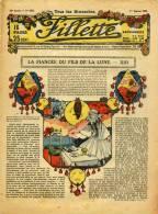FILLETTE N° 1032 - 01 Janvier 1928 - Revistas Y Periódicos