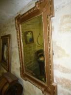 Glace Ou Miroir époque Louis Philippe Ou Napoléon III....(pas D'envoi...à Prendre Sur Place) - Other Collections
