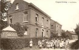 Chapon Seraing Les écoles Tres Animée 1906 Petit Plis!!