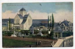 BRUXELLES--Exposition 1910--La Section Allemande (petite Animation) - Expositions
