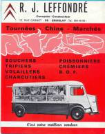 France.R.J.Leffondre. Carrossier-Constructeur. - Advertising