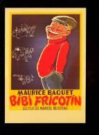 CP Affiche De Cinéma : BIBI FRICOTIN Marcel Blistene Maurice Baquet Forton Pieds Nickelés Movie Kino - Posters On Cards
