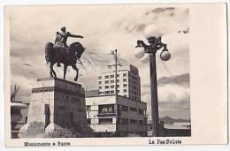Bolivia Real Photo La Paz Tarjeta Postal Vintage Original Postcard Cpa Ak (W3_1346) - Bolivia