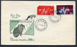 1969 Norway Census First Day Cover - FDC