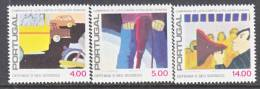 Portugal  1418-20  **   NOISE  POLLUTION - Unused Stamps