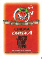 Cinema Craven A Juste Pour Rire 1998 Montreal - Trois-Rivieres - Sherbrooke - Quebec - Chicoutimi - Advertising