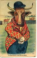 Illustrateur Non Identifié - Humour Vache - Humour
