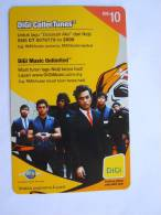Malaysia Malaisie DiGi Nidji  Mobile GSM TOP-UP Prepaid Reload RM 10 Used - Musique