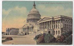 Washington Capitol  10140 Vintage Original Postcard Cpa Ak (W3_1381) - Washington DC