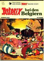 Asterix Heft Band 24 - Asterix Bei Den Belgiern  -  Von 1979 - Asterix