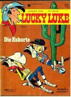 Comics Lucky Luke : Die Eskorte ,  Band 44  Von 1985  ,  Delta Verlag - Books, Magazines, Comics
