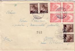 BOHEME ET MORAVIE-BEL AFFRANCHISSEMENT DE PRAG LE 7-5-1942. - Cartas