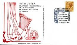 1973 - ITALIE - LONIGO - THEATRE DE L OPERA - Music