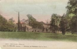CPA SAINT EMILION (Gironde) - Chateau De Ferrand (côté Du Parc) - Saint-Emilion