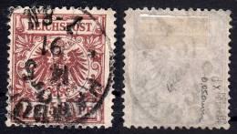 Dt.Reich 50 D X , Gestempelt / O / Krone , Adler / Geprüft - Allemagne