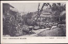 JAPON Nagasaki - Bords De Rivière - MOULIN A AUBE (chocolat Klaus N°14) - Other