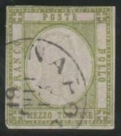 ITALIA 1861 (NAPOLES) - Yvert #10 - VFU - Napels