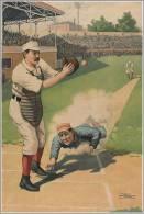 Baseball S-t-a-m-p-ed Card 1274-1a - Baseball