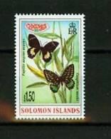 Solomon Islands 1997,1V,part Set,butterflies.vlinders, Schmetterlinge,papillons, MNH/Po Stfris(D1593) - Papillons