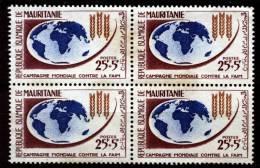 Mauritania - Mauritanie 1963, Campagne Mondiale Contre La Faim **, MNH (Re-gumed???) - Mauritanië (1960-...)