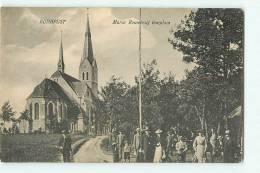 BUDAPEST : Maria Remefe - Uj Templom. 2 Scans. - Hongrie