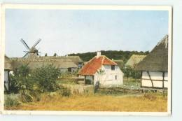 ODENSE : The Old Funen Village At Odense. Moulin. 2 Scans. - Danemark