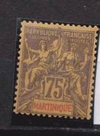 Martinique N°42* Neuf Avec Charniere - Martinique (1886-1947)