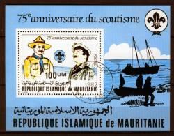 Mauritania - Mauritanie 1982, Jamboree - Scout - Scouting - Scoutisme (o), Used - Mauritanië (1960-...)